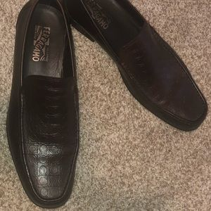 Salvatore Ferragamo Men's Loafers (Dark Brown)